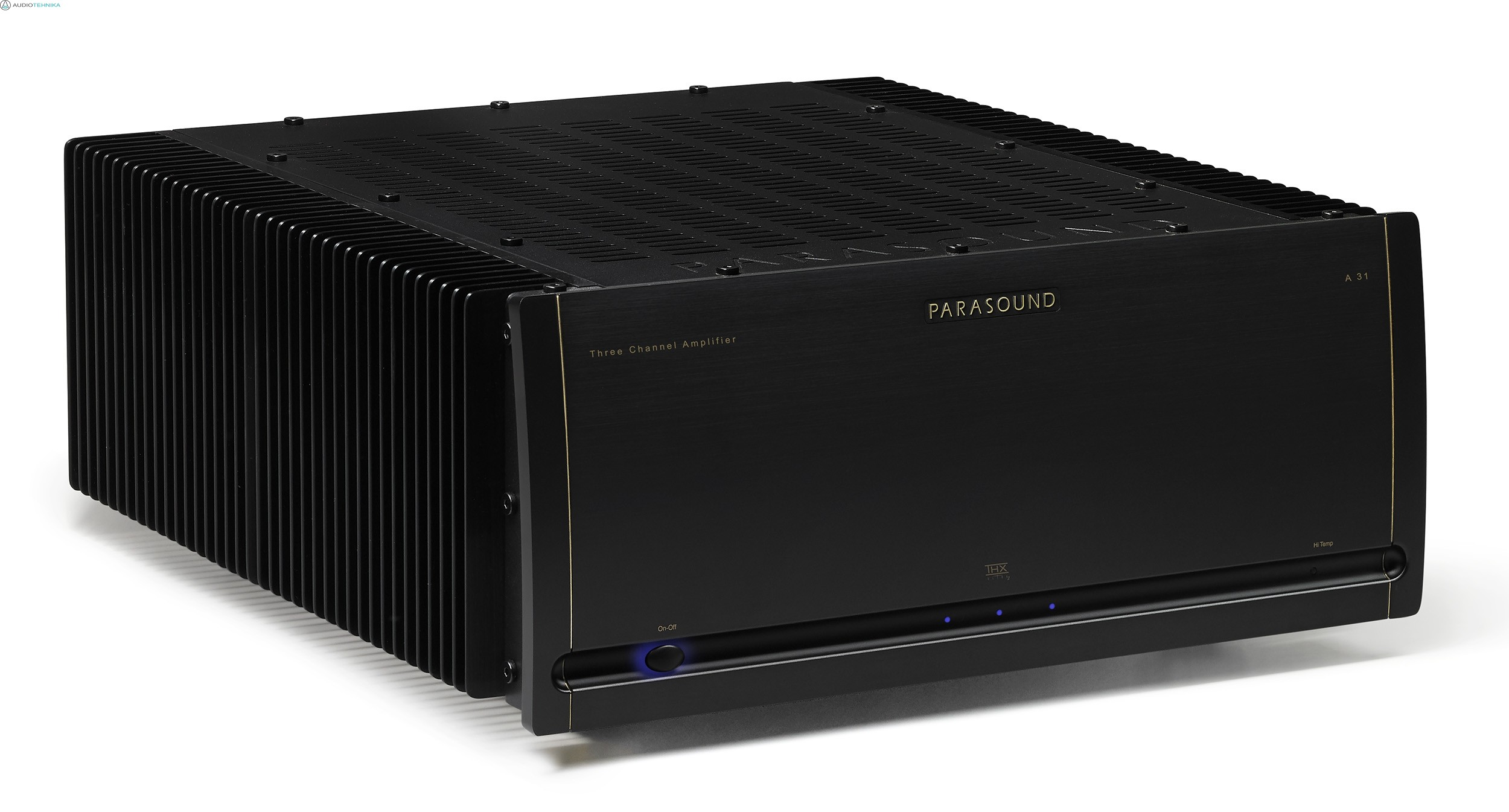PARASOUND A 31 Three-Channel Power Amplifier Halo