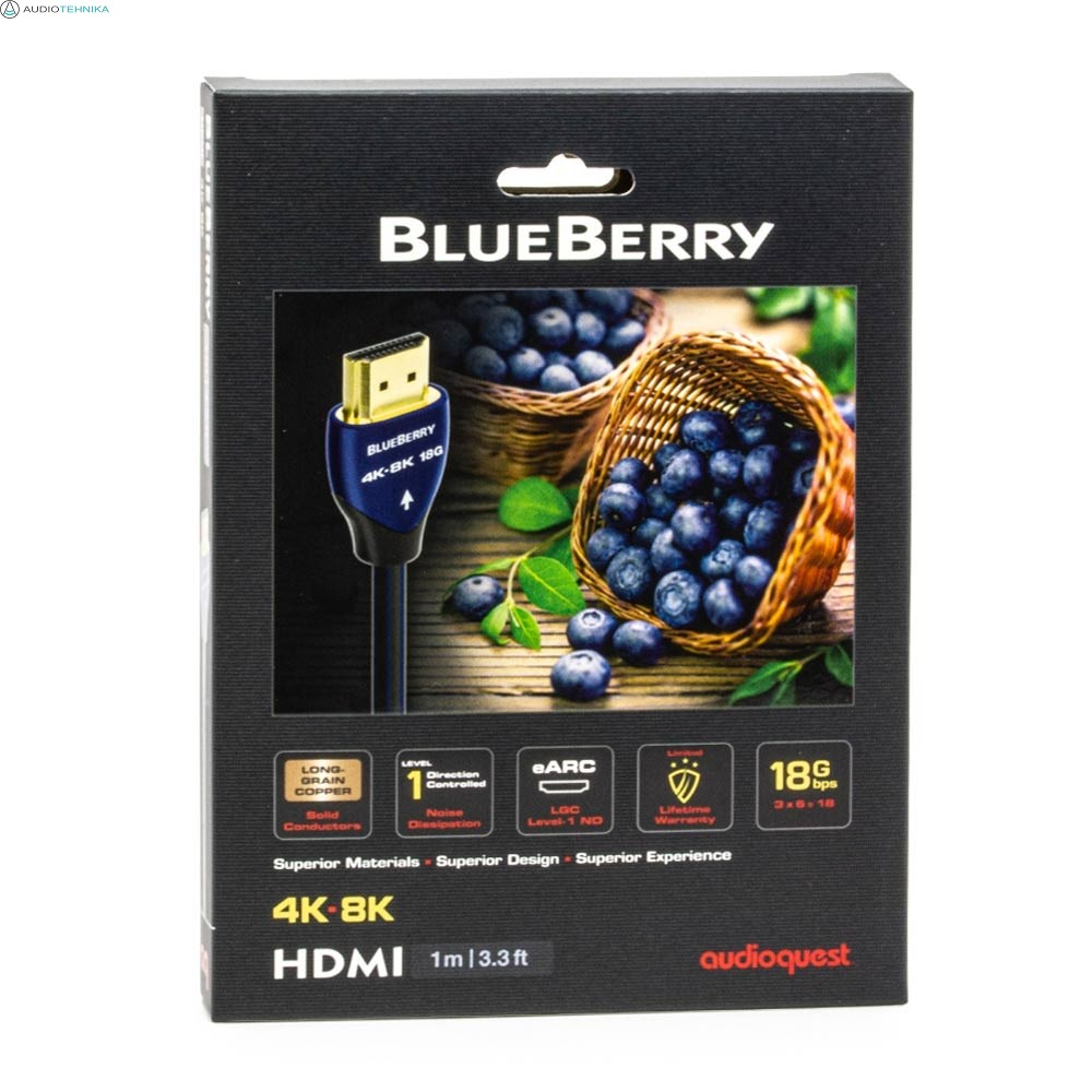 AudioQuest BlueBerry HDMI kaabel