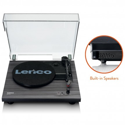 Lenco LS-10 - Turntable with built-in speakers