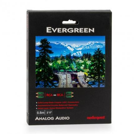 AudioQuest Evergreen RCA -RCA kaabel