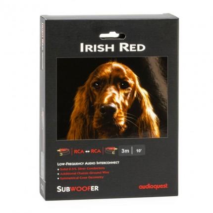 AudioQuest Irish Red subwoofrikaabel