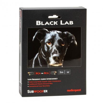 AudioQuest Black Lab subwoofrikaabel