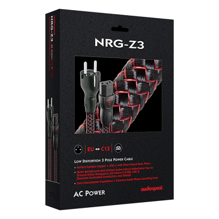 AudioQuest AC Power Cable NRG Z3